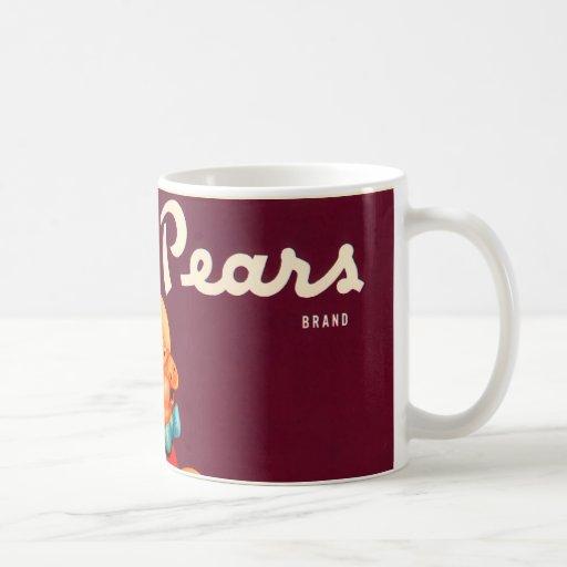 Peras guarras taza