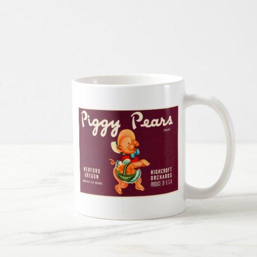 Peras guarras taza clásica