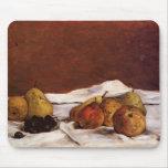 Peras y uvas de Paul Gauguin- Alfombrillas De Raton