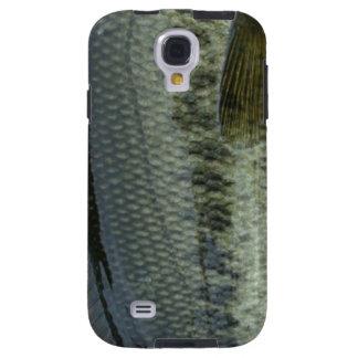 Perca americana por la pesca con mosca de Patternw Funda Galaxy S4