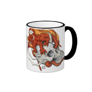 Perca de Dragonskull Taza De Café