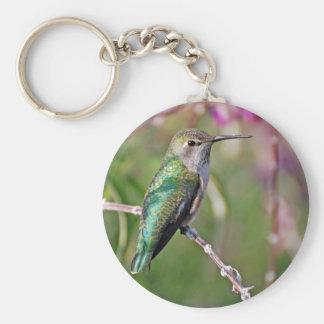Perca del colibrí II Llaveros Personalizados