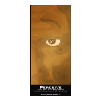 """Perceive"" Value Bookmark Full Color Rack Card"