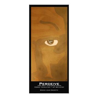 """Perceive"" Value Bookmarks Rack Card"