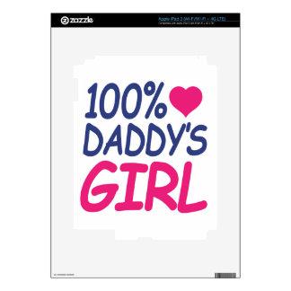 percent Daddy's girl iPad 3 Decal