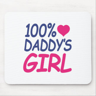 percent Daddy's girl Mouse Pad