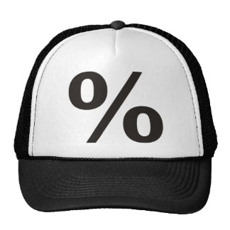 % Percent Products & Designs! Trucker Hat