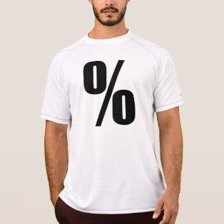 % Percent Sign 100% Symbol Percent Icon Per Cent % T-Shirt