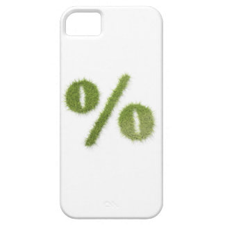 Percentage symbol made of grass iPhone SE/5/5s case