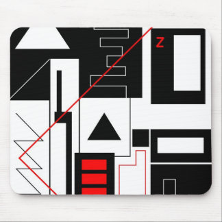 Perception 1 - Art Gallery Selection Mouse Pad