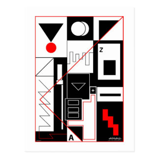 Perception 2 - Art Gallery Selection Postcard