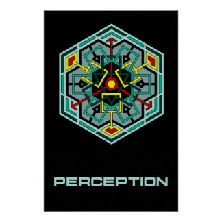 Perception 36 x 24 Poster