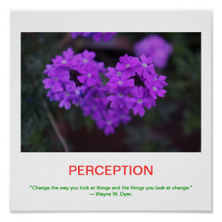 PERCEPTION demotivational poster