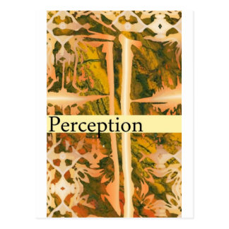 perception postcard