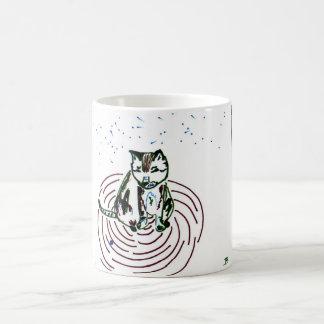 Perceptive Cat Coffee Mug