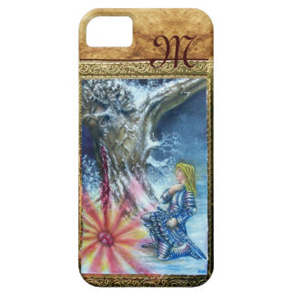 PERCEVAL AND VISION OF THE HOLY GRAIL monogram iPhone SE/5/5s Case