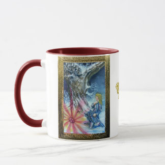 PERCEVAL AND VISION OF THE HOLY GRAIL MUG