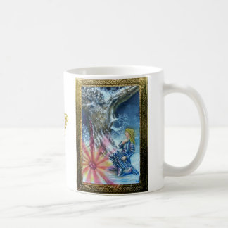 PERCEVAL AND VISION OF THE HOLY GRAIL CLASSIC WHITE COFFEE MUG