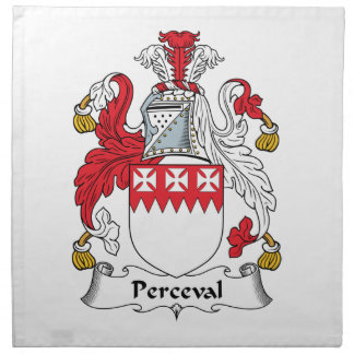 Perceval Family Crest Napkin