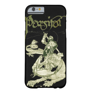 PERCEVAL FIGHTING DRAGON,QUEST HOLY GRAIL Fantasy Barely There iPhone 6 Case
