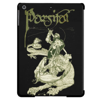 PERCEVAL FIGHTING DRAGON,QUEST HOLY GRAIL Fantasy iPad Air Cases