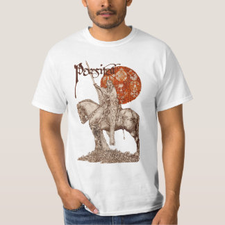 PERCEVAL LEGEND /QUEST OF HOLY GRAIL Red Fantasy T-Shirt