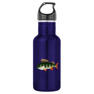 Perch Fish Stainless Steel Water Bottle