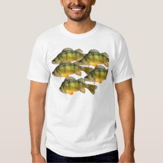 Perch fishing tee shirts