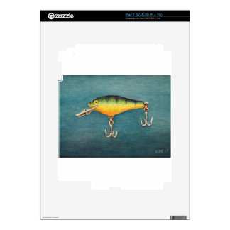 Perch Lure Decal For iPad 2