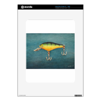 Perch Lure Skin For The iPad