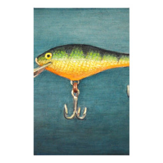 Perch Lure Stationery
