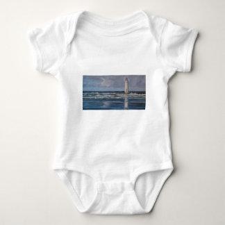 Perch Rock Lighthouse Baby Bodysuit