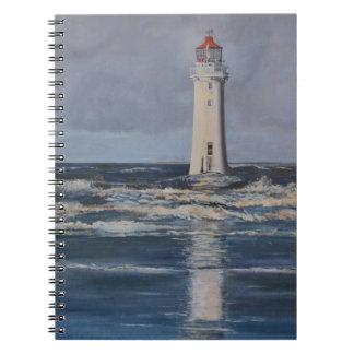 Perch Rock Lighthouse Spiral Notebook