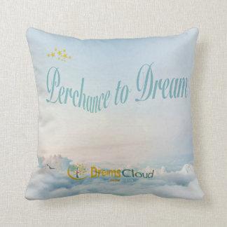 Perchance to Dream Throw Pillow
