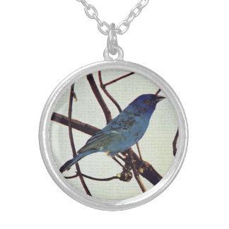 Perched Bird Pendant