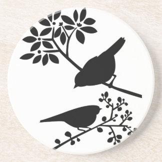 Perched birds coaster