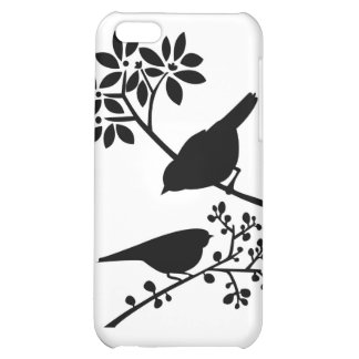 Perched birds iphone 4 case