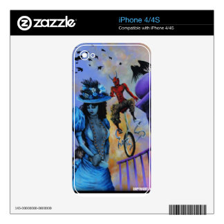 Perched - Cell Phone Skin iPhone 4S Decal