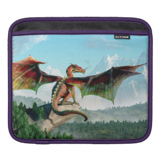 Perched Dragon Sleeves For iPads