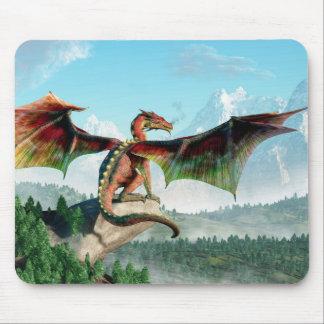 Perched Dragon Mousepads