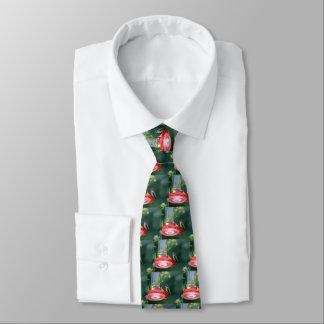 Perched Hummingbird Neck Tie