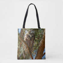 Perched Northern Saw-Whet Owl Tote Bag