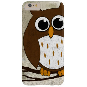 Perched Owl Barely There iPhone 6 Plus Case