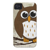 Perched Owl iPhone 4 Case