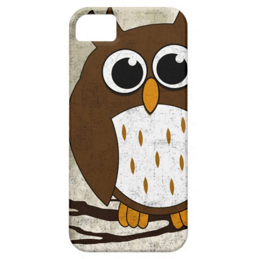 Perched Owl iPhone 5 Case