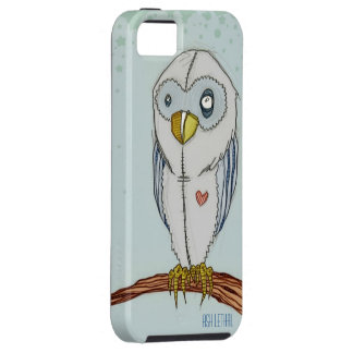 Perched Owl // iphone case // Ash Lethal iPhone 5 Case