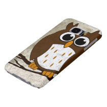 Perched Owl Samsung Galaxy S6 Case