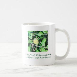 """Perched  Robin"" Quote Mug"