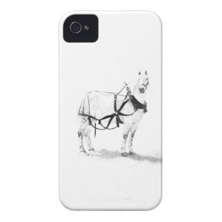 Percheron Draft Horse blackberry Case