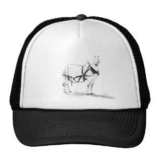 Percheron draft horse equine art baseball hat
